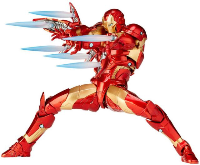 Revoltech Bleeding Edge Iron Man Effects Pieces