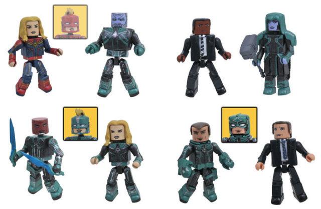 Walgreens Exclusive Captain Marvel Minimates Series