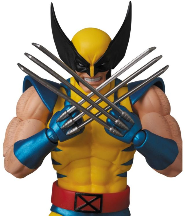 Wolverine MAFEX Figure Crossing Claws
