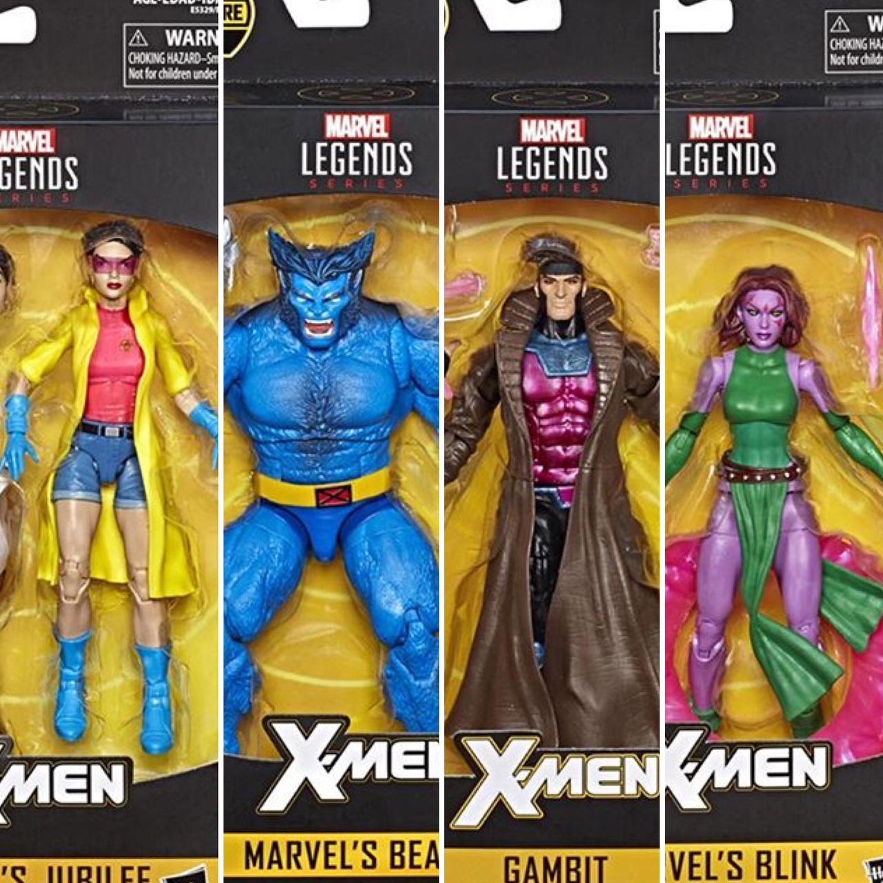 """NEW Marvel Legends X-men 6/"""" GAMBIT Action Figure BAF Caliban by Hasbro"""