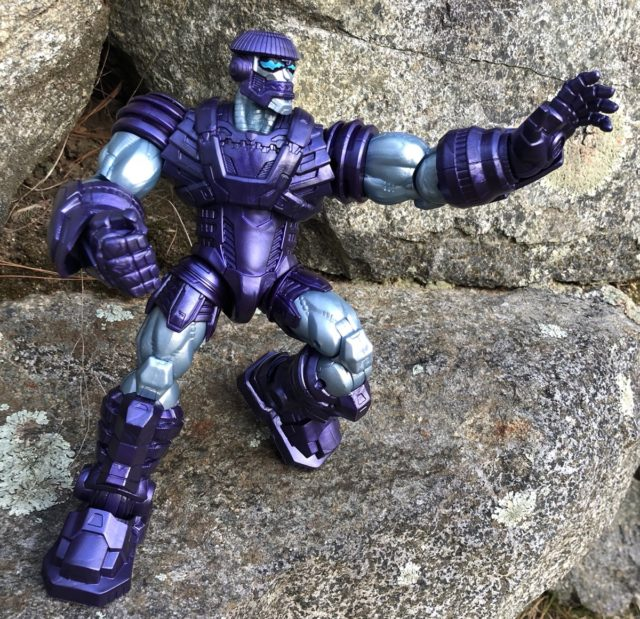 Articulation on Hasbro Captain Marvel Legends Kree Sentry Figure