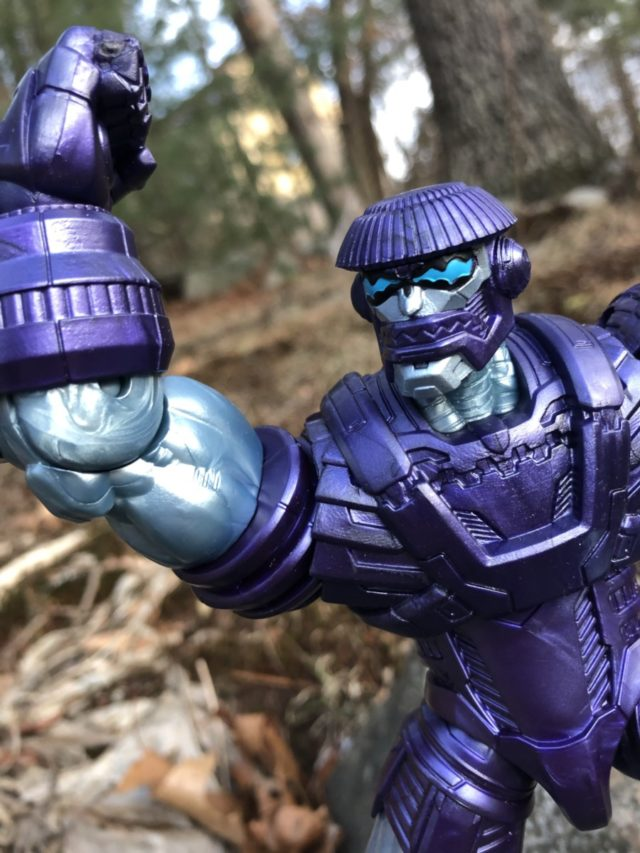 Review Captain Marvel Marvel Legends Build-A-Figure Kree Sentry
