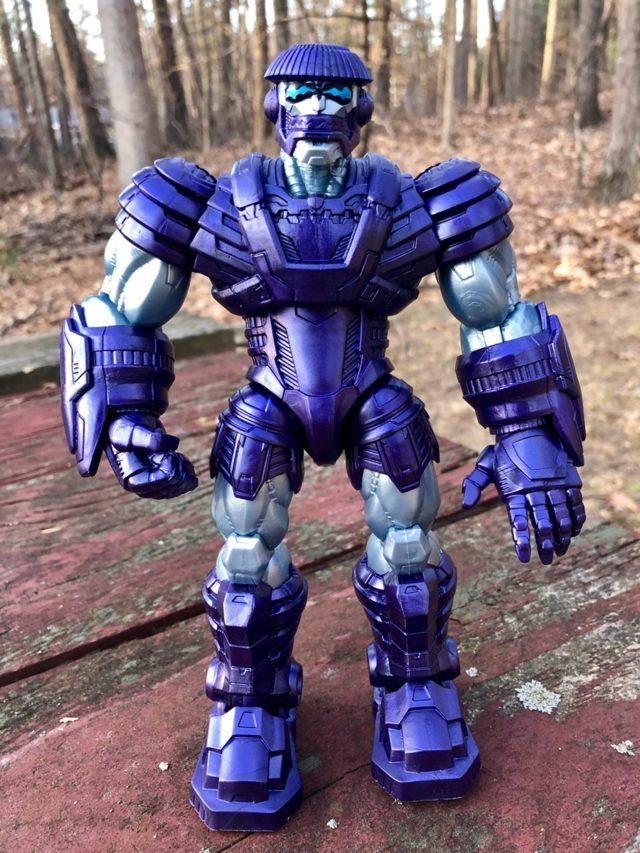 Front of Captain Marvel Marvel Legends Kree Sentry Build-A-Figure