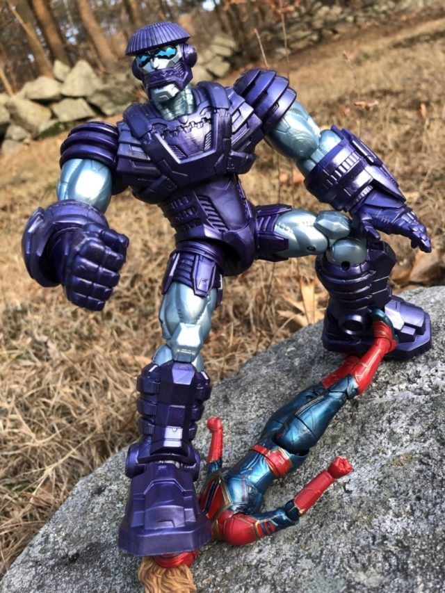 Marvel Legends Kree Sentry Build-A-Figure Review