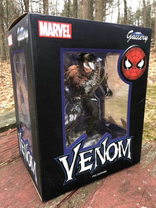 Marvel Gallery Venom PVC Statue Box Front