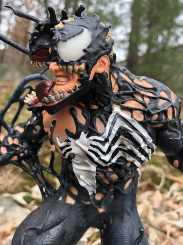 Side View of Venom Marvel Gallery Statue