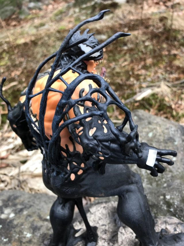 Venom Symbiote Merging with Eddie Brock Statue Diamond Select Gallery