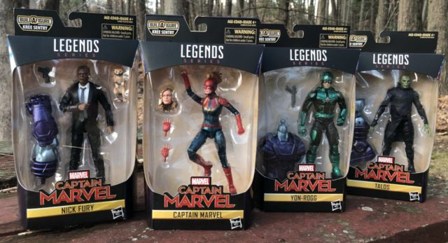 Marvel Legends Captain Marvel Movie Figures Unboxing