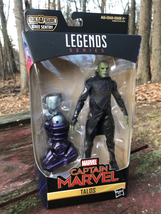 Marvel Legends Talos Skrull Figure Packaged
