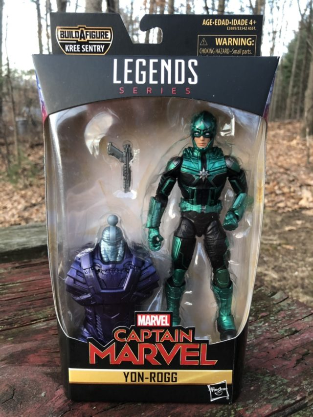 Marvel Legends Yon-Rogg Starforce Commander Figure Packaged