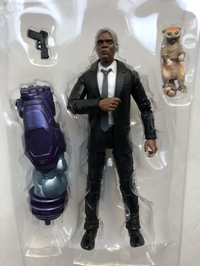 Nick Fury & Goose the Cat Hasbro Figures in Packaging