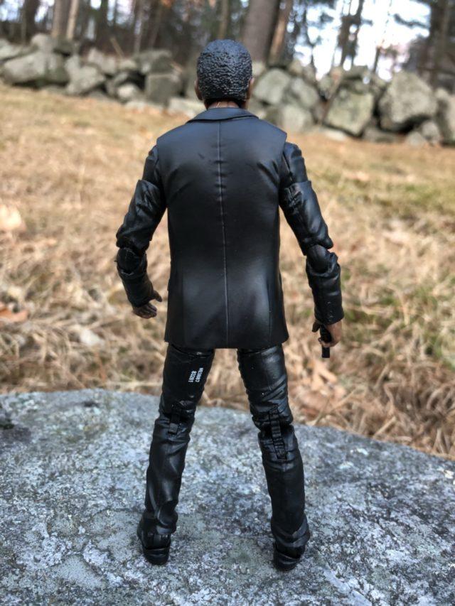 "Back of Marvel Legends Captain Marvel Movie Nick Fury 6"" Figure"