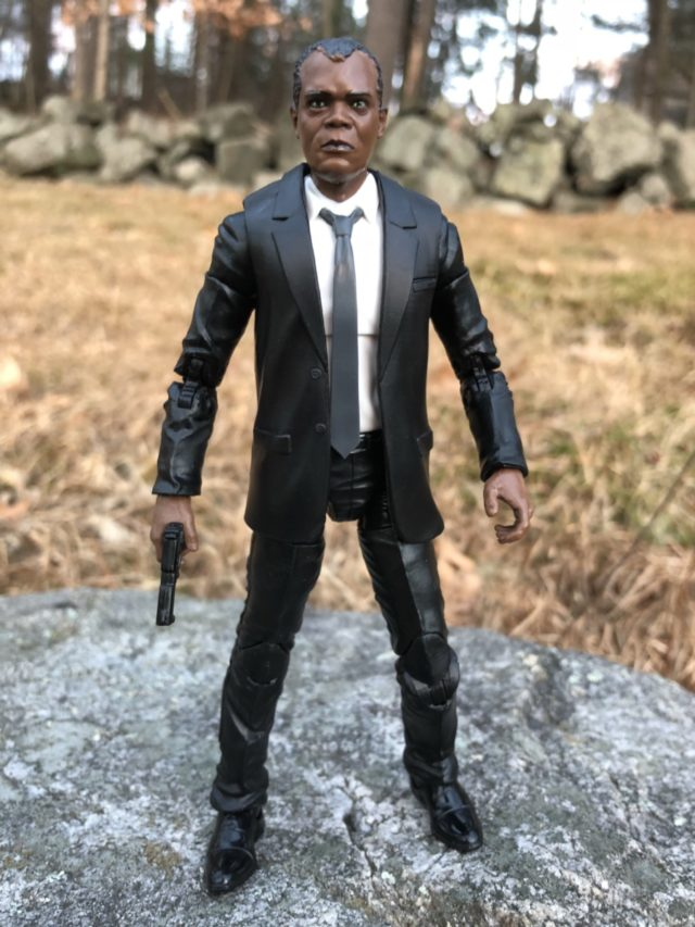 Captain Marvel Movie Figures Nick Fury Review