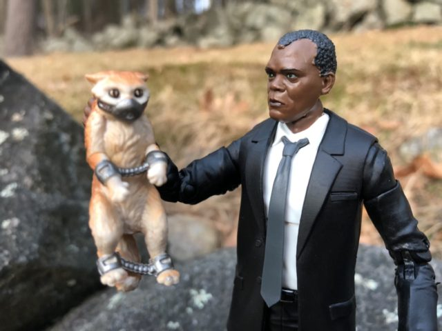 Marvel Legends Captain Marvel Movie Nick Fury & Goose Cat Review