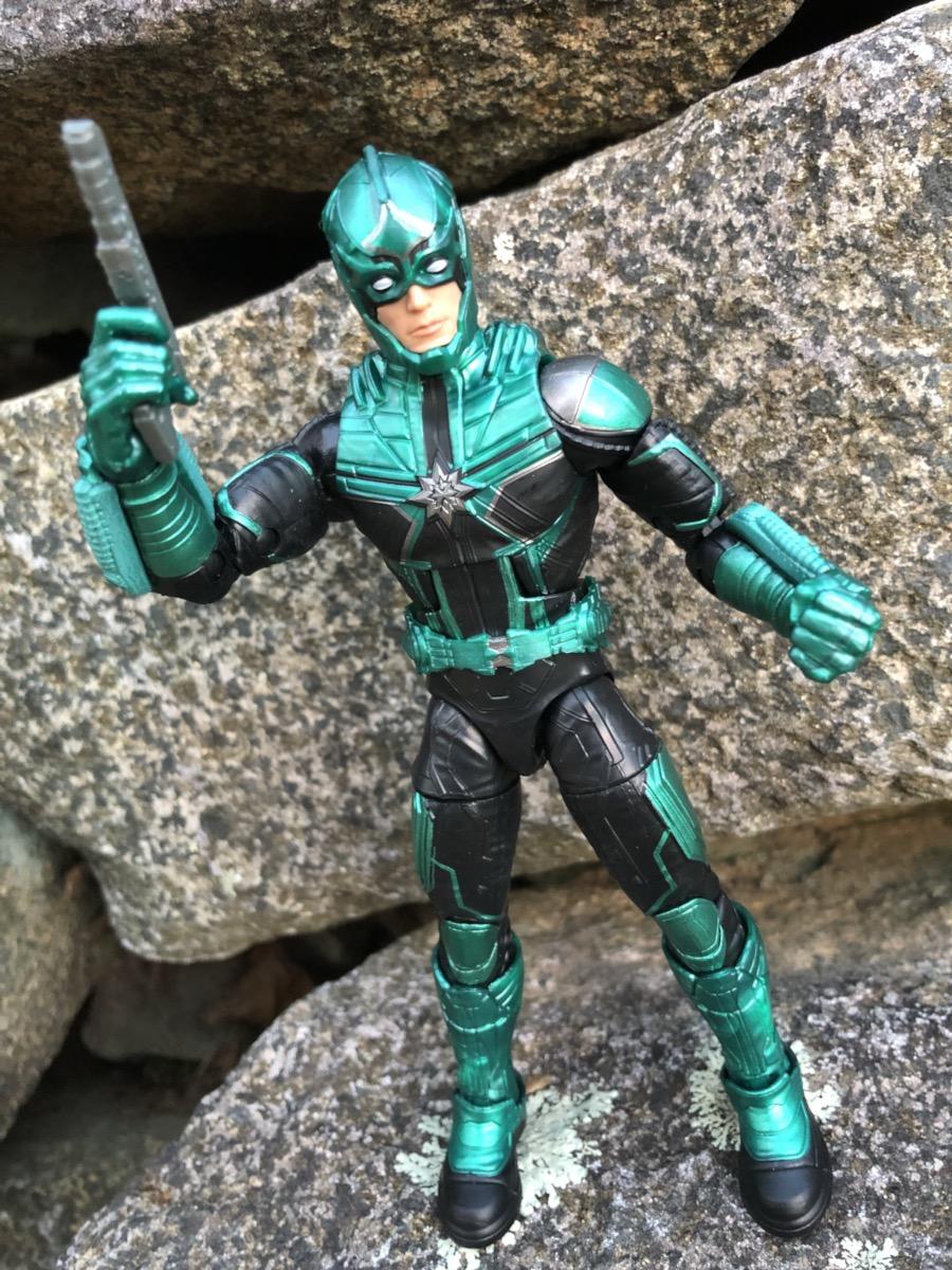Marvel Legends Yon-Rogg from Captain Marvel Kree Sentry Build A Figure Wave