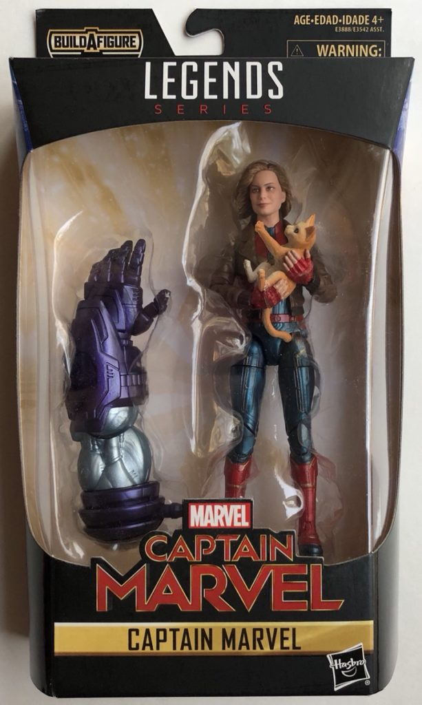 Packaged Captain Marvel Legends Kree Sentry Series Figure