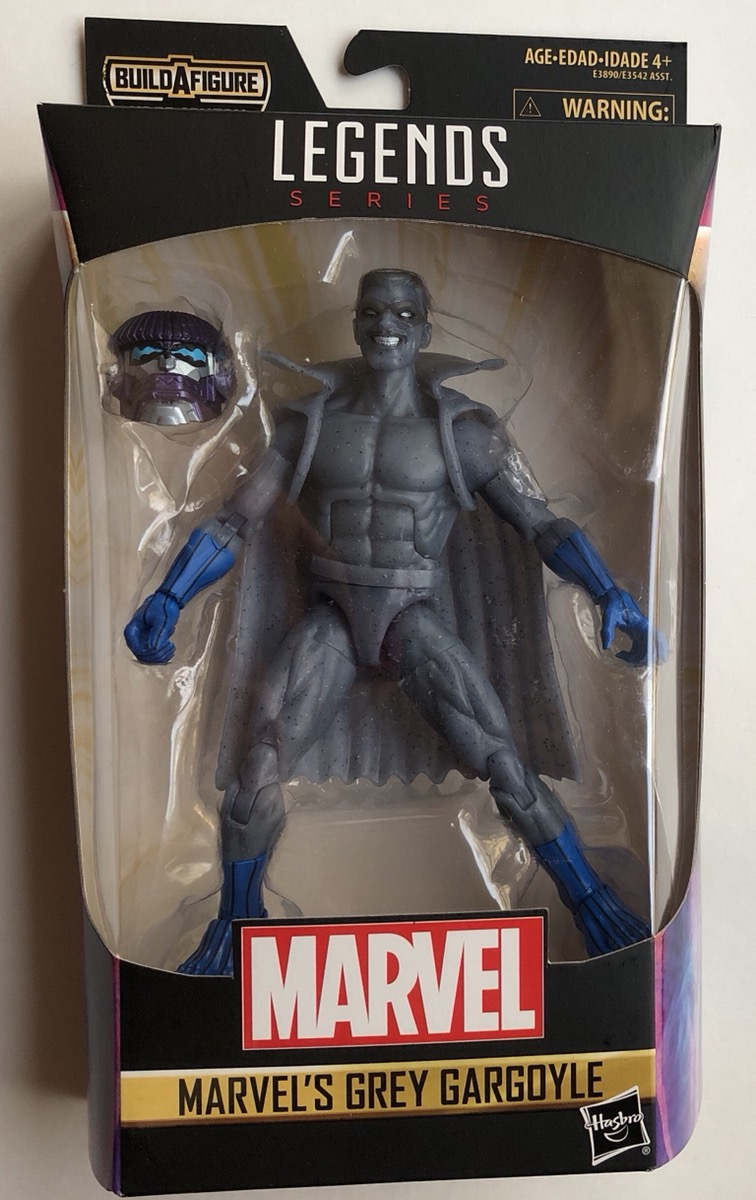 "KREE SENTRY Marvel Legends 6/"" Captain Marvel Wave 1 Grey Gargoyle Figure"