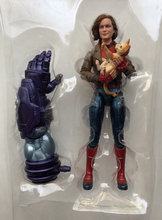 Marvel Legends Kree Sentry Series Captain Marvel Figure and Accessories Left BAF Arm