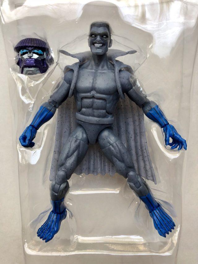 Hasbro Captain Marvel Legends Grey Gargoyle Figure and Kree Sentry Build A Figure Head