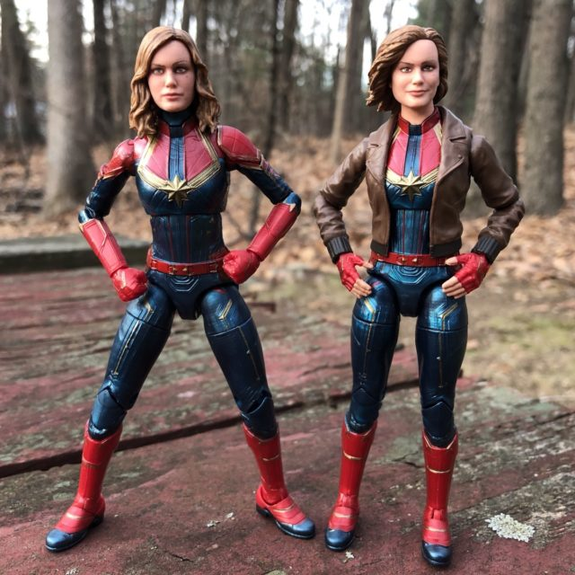 Hasbro Captain Marvel Movie Figures Comparison Six Inch Photo