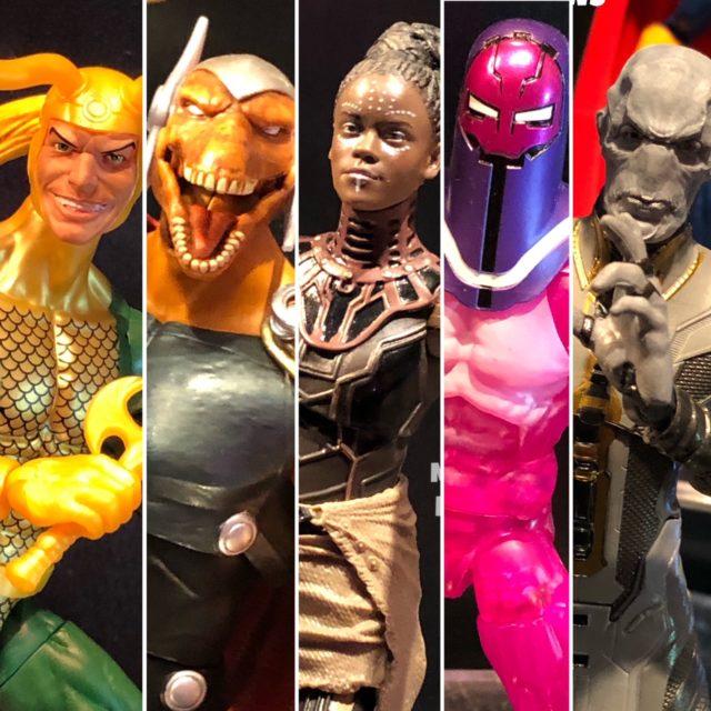 Avengers Endgame Marvel Legends Figures at New York Toy Fair 2019