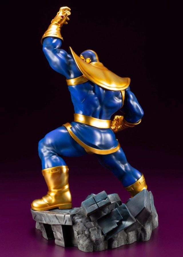 Back of Kotobukiya Thanos ARTFX+ Avengers Statue