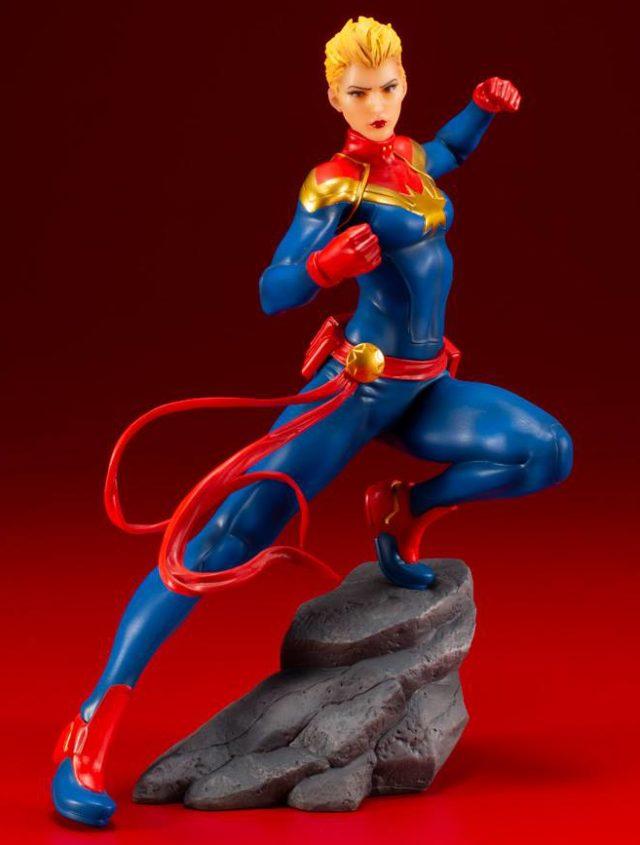 Captain Marvel ARTFX+ Statue Kotobukiya 2019