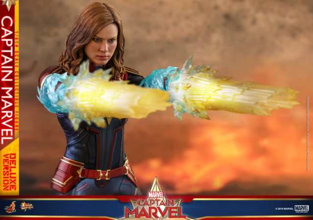Captain Marvel Hot Toys Figure Deluxe Effects Pieces