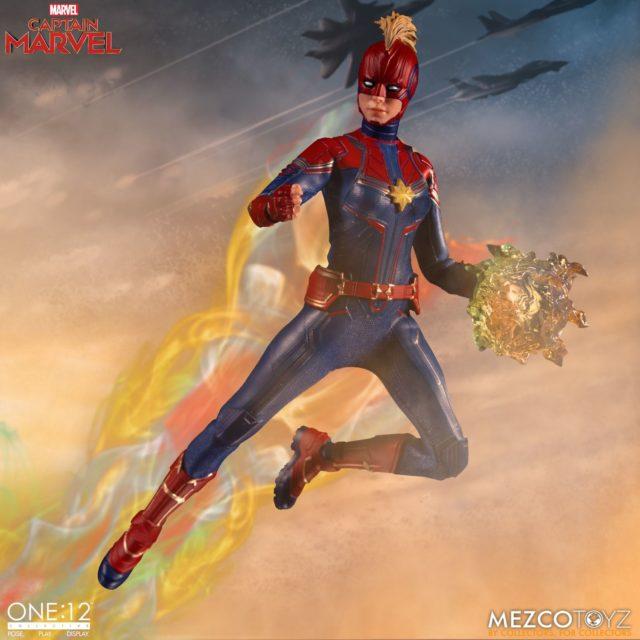 Captain Marvel Movie Mezco Toyz ONE 12 Collective Figure