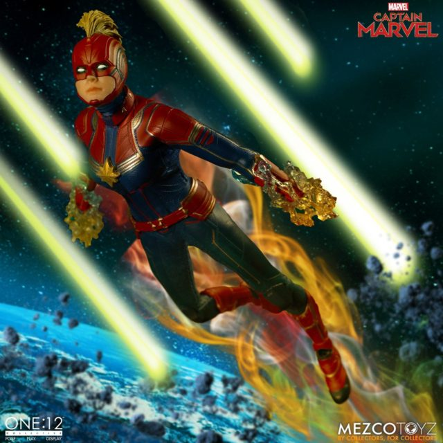 Captain Marvel ONE 12 Collective Figure Masked
