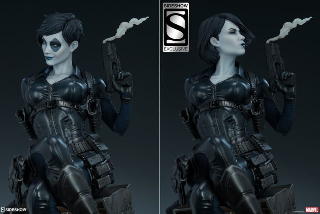 Comparison of Sideshow Domino Premium Format Figure Portrait Heads