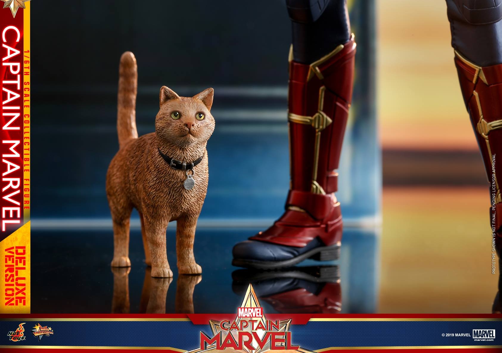 Captain Marvel Katze