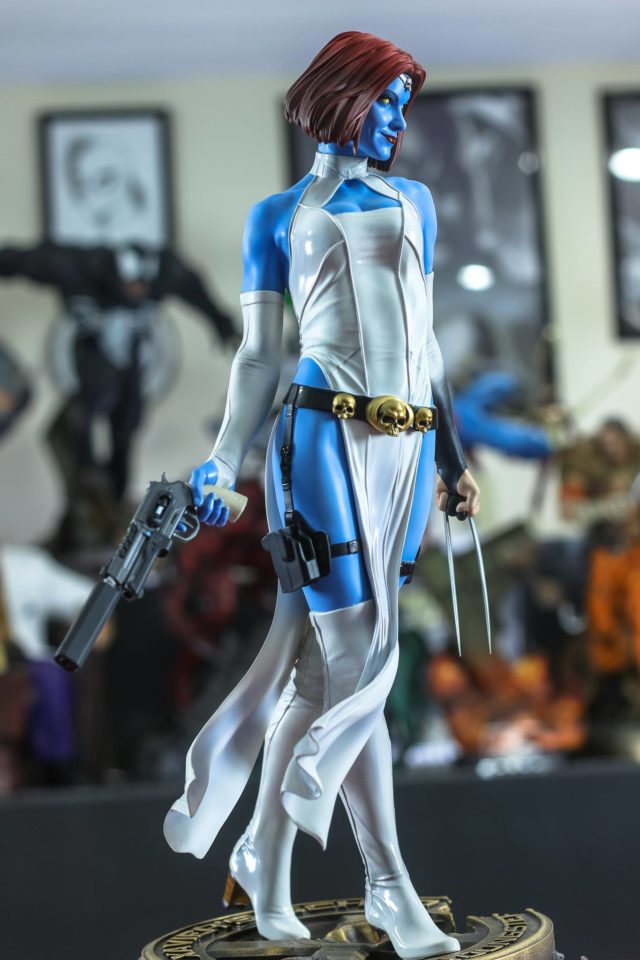 Mystique Sideshow Premium Format Figure Side View