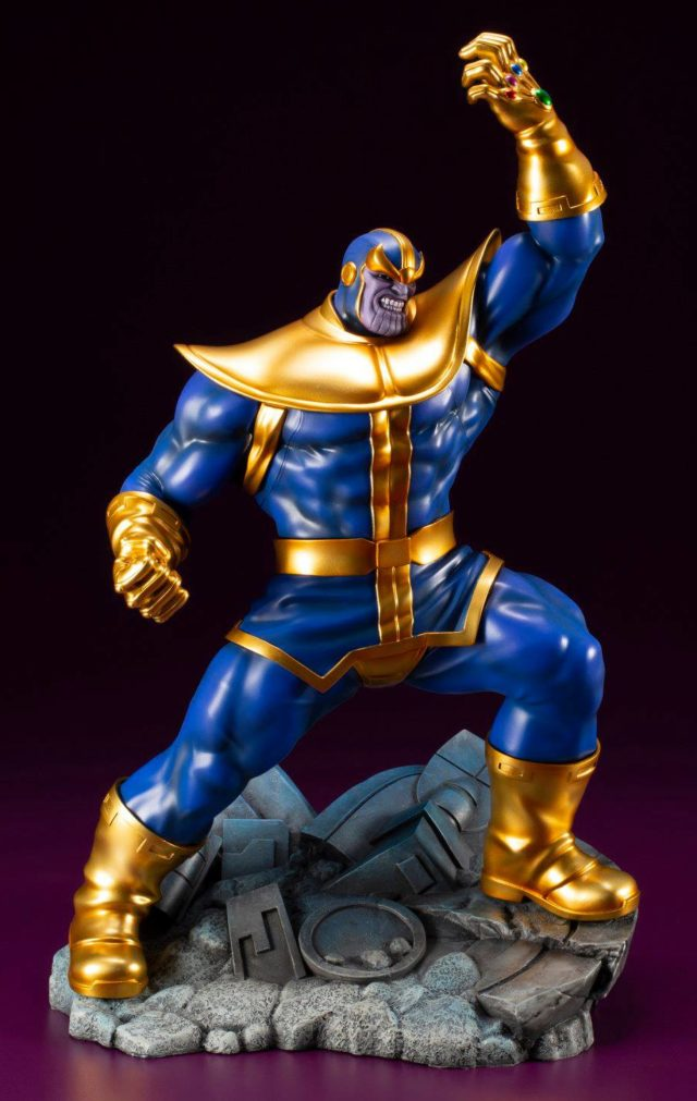 Side View of Koto Thanos ARTFX+ Statue Marvel Now