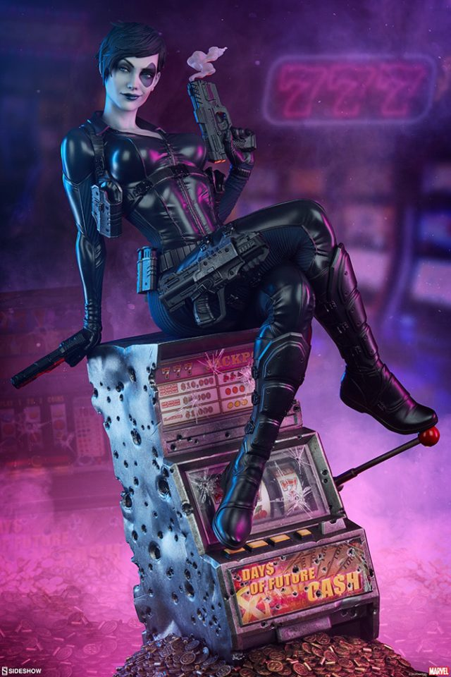 Sideshow Collectibles Domino Statue on Slot Machine