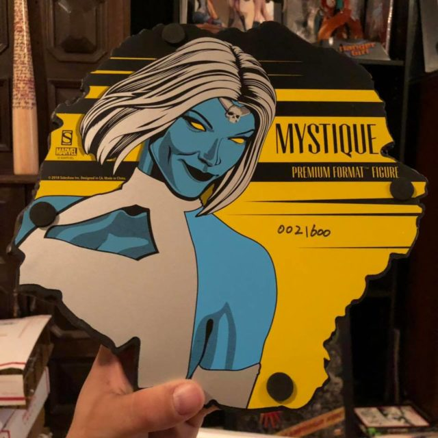 Sideshow Mystique Statue Bottom of Base 2019
