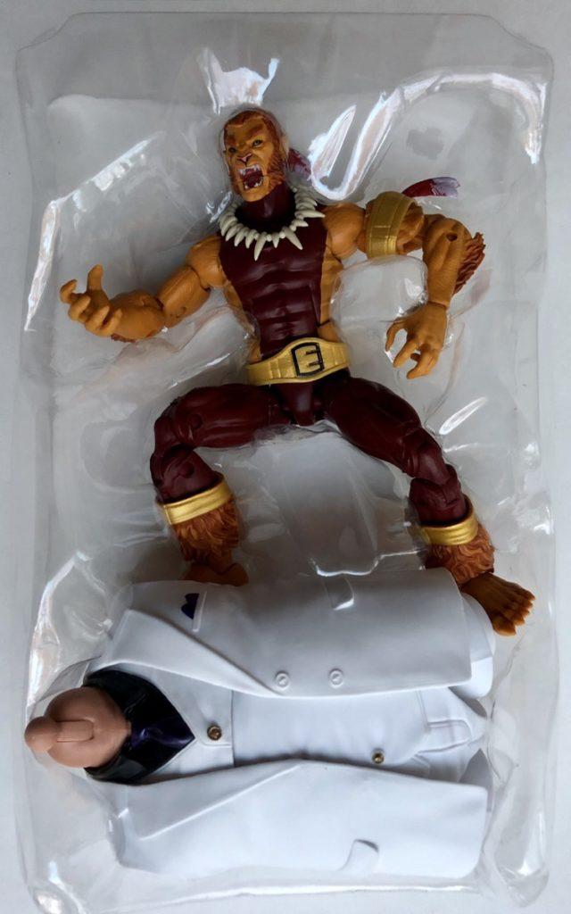 Marvel Legends Puma Figure and Accessories Kingpin Series BAF Torso