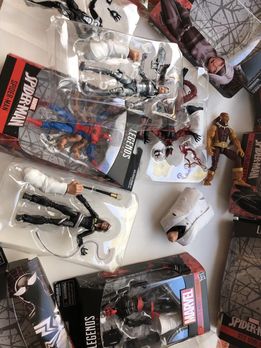 Marvel Legends Spider-Man 6/'/' NIGHT THRASHER Kingpin NO BAF Hasbro New Loose