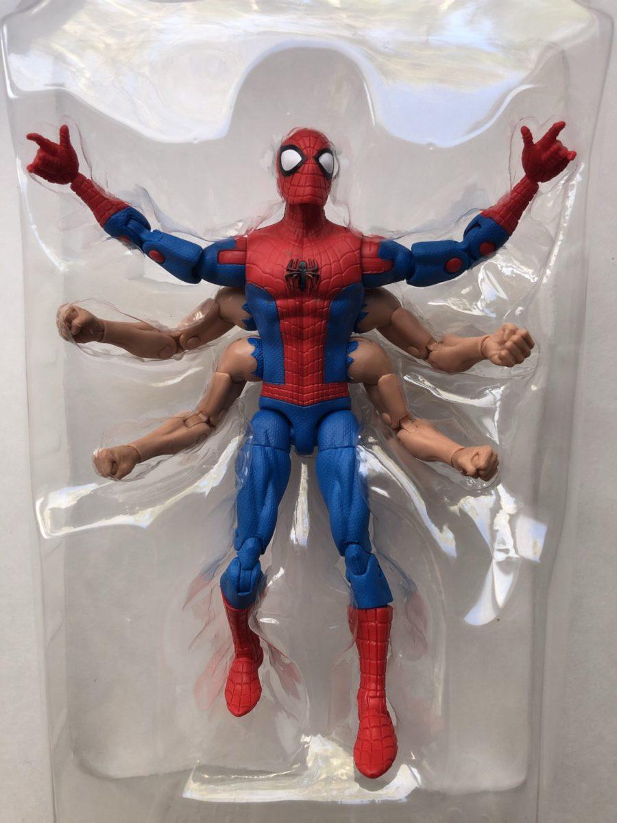 """Marvel legends Red Goblin SPIDER-MAN Loose 6/"""" Figure no Kingpin BAF"""