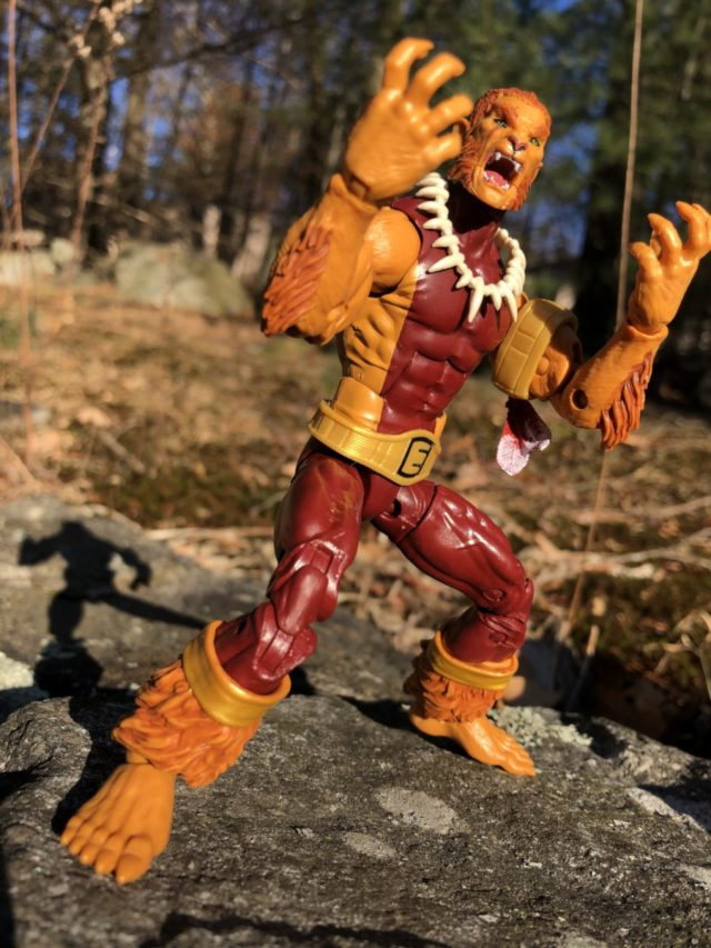 Marvel Legends Puma Figure Review