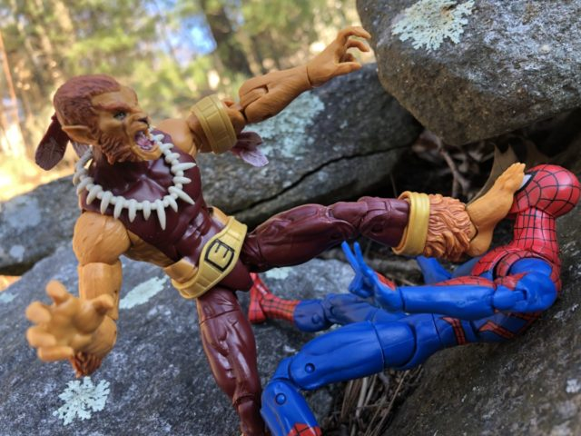 Spider-Man Marvel Legends 2019 Puma Figure Killing Spidey