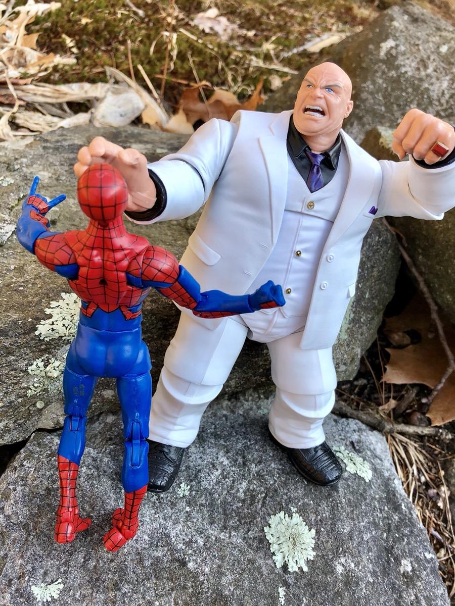 "Marvel Select VENOM Interchangeable heads Spider-Man Villain 8/"" Action Figure"