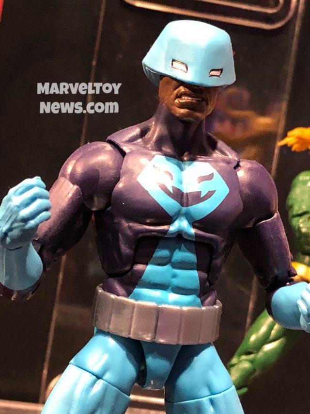 Close-Up of Marvel Legends 2019 Rock Python Toy Fair