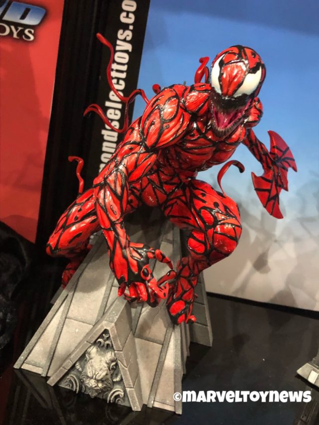 Toy Fair 2019 Carnage Premier Collection Statue