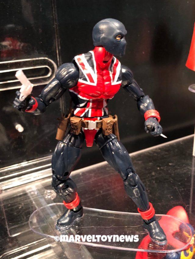 Hasbro Toy Fair New York Union Jack Marvel Legends Figure
