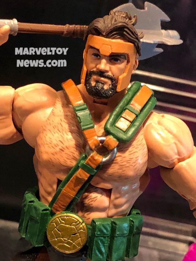 Hasbro Toy Fair 2019 Avengers Legends Hercules Figure Close-Up