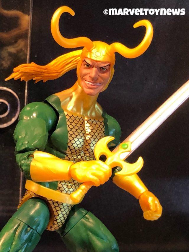 Toy Fair New York: Marvel Legends Loki Classic Hasbro Figure Close-Up