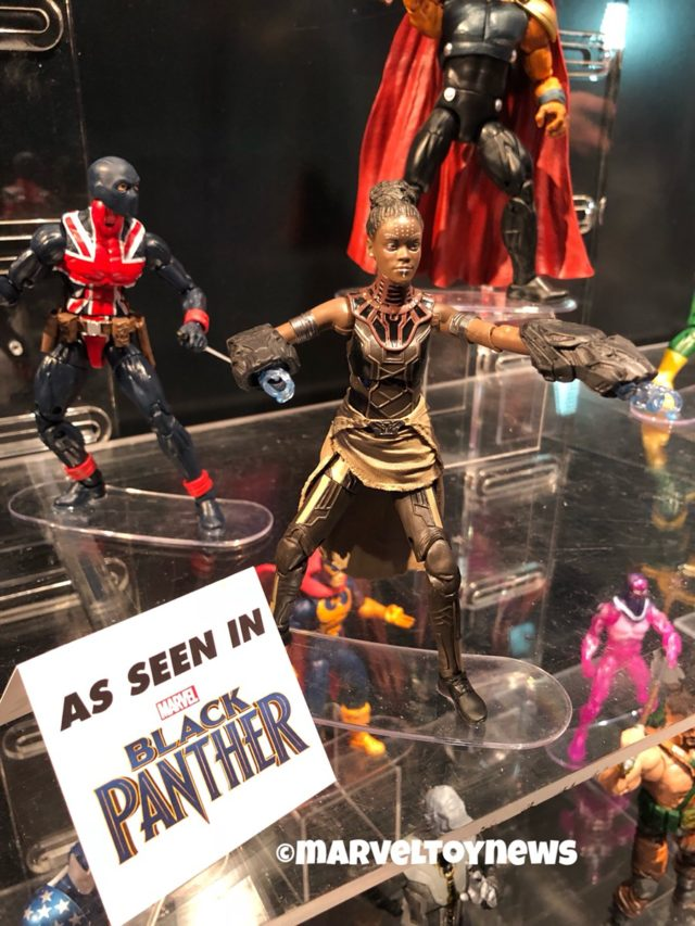 Marvel Legends Toy Fair Shuri and Union Jack Figures