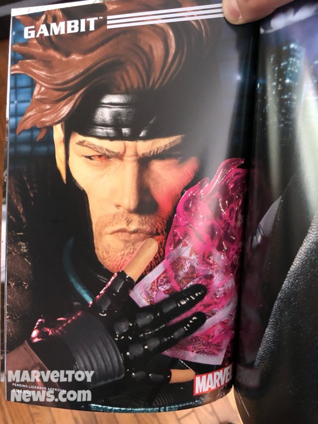Mezco ONE:12 Collective Gambit Figure Photo Toy Fair 2019