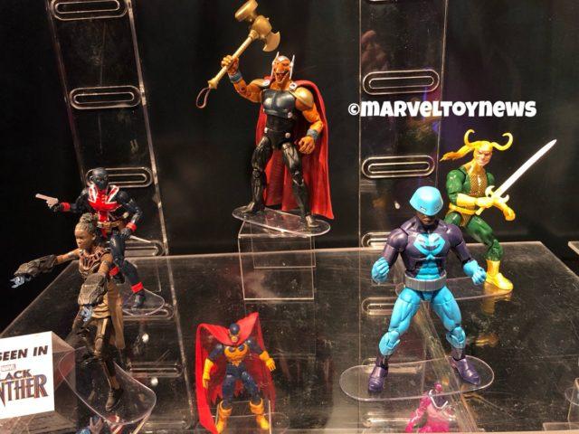 Marvel Legends Avengers Endgame Wave 2 at New York Toy Fair